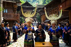 The Welcoming Ceremony (Kaili Province, China 2016) (Alex Stoen) Tags: alexstoenphotography china geotagged kaili leicamptyp240 miao rurallife summiluxm35mm tradition travel vacation welcomingceremony ethnicgroup