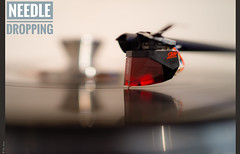 Needle Dropping (salar hassani) Tags: needle dropping turntable record lp ortofon 2m red stylus