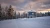 Last one (Littlepois Photographie) Tags: nikon d4 little pois nikon2470f28 colorefexpro lr4 169 paysage landscape finlande finland laponie snow sunset coucherdesoleil sky ciel
