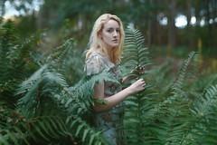 Danielle (Ella Ruth) Tags: portrait woman dress nature woodland woods ferns fernleaves green wavyhair blonde ethereal soft d750 50mm 14 nikon forest naturallight photographer shropshire shrewsbury leicester ellaruth