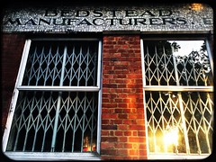 Bedstead Manufacturers (Ronald Hackston) Tags: horatiomyer bedstead manufacturer mosaic lettering sign vauxhall lambeth london england uk ronniehackston