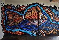 Moyoshi (HBA_JIJO) Tags: streetart urban graffiti vitry vitrysurseine animal art france artist hbajijo wall mur painting peinture poisson murale paris94 spray fish mural urbain grafiti