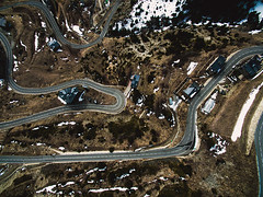 """Circuit. (¡arturii!) Tags: wow amazing awesome superb interesting stunning impressive nice beauty great arturii arturdebattk """"canonoes6d"""" gettyimages travel trip tour route viatge holidays vacations drone drones aerial circuit road andorra cool pic picture dji phnatom3 winter snow landscape nature mountain outdoors pyrenees pirineus catalunya europe"""
