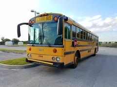 #3944 - 2002 Thomas Saf-T-Liner HD (Brady Backhoff) Tags: 3944 thomas saftliner hd cummins isc school bus hillsborough county florida
