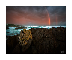Pot 'o Gold (Mike Hankey.) Tags: nelsonbay seascape published portstephens fishermansbay stormy