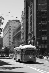 1073 on Market (imartin92) Tags: sanfrancisco california municipal railway muni trolley tram pcc streetcar