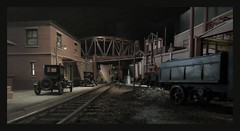 An Homage to the Steel Mills - 1920s (Michael Paul Smith) Tags: steel mills pittsburgh 1920s 124th scale diorama