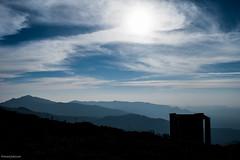Hill silhouette (naturelensman) Tags: nature nikon canon tree blue pond beautiful landscape water india chikmagalur clouds cloudscape rain karnataka travel hills sky naturelensman