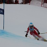 Noa Rogers Teck U14 Provincials at Big White Day 1 Winner PHOTO CREDIT: John Legg