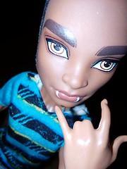 Not Alone (WalkersAlone) Tags: monsterhigh polishdolls monsterboys clawdwolf packoftrouble man mansters myfav♥