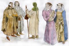 Costume study Edward I 1272-1307