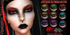 Vengeful Threads - Catwa & Omega - Avaris eyeshadow_ad (Vixn Dagger - Vengeful Threads) Tags: catwaapplier catwamakeup omegaapplier goth gothic dark vampire roleplay vengefulthreads
