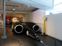 ThrustSSC, P1070187 (LesD's pics) Tags: cars coventrytransportmuseum recordbreakers landspeed
