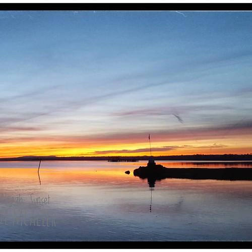 Lough Neagh at Antrim Marina