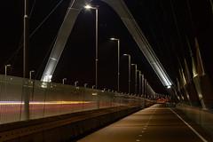 Oversteek-77 (stevefge) Tags: avond nijmegen oversteek evening night bridges brug nacht architecture nederland netherlands nl nederlandvandaag reflectyourworld