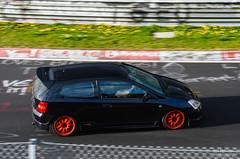 Honda Civic Type R (Kurt Blythman) Tags: nurburgring nordeschliefe green hell ring track cars auto racing