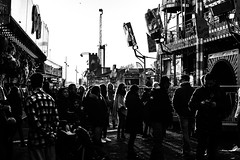 Bad Metering Fair (Noonski) Tags: bad metering fair black bw blackwhite blackandwhite white wit en monochrome amsterdam nederland kermis highlights
