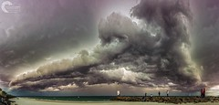 SQUALL LINE (Vaughan Laws Photography | www.lawsphotography.com) Tags: squall squallline coldfront coldies thunderstorms storms shelfcloud panorama panoramic stormchasing stormfront weather weatherphotography vaughanlaws vaughanlawsphotography landscape lawsphotography seascape