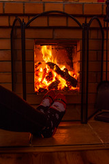 DSC_7854 (sergeysemendyaev) Tags: 2016 ruza russia countryside руза россия деревня камин огонь тепло fireplace warm warmth fire