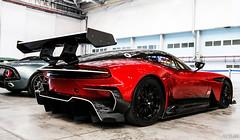 Vulcan Wing (ak_russ) Tags: aston astonmartin vulcan red wing car cars auto autos supercar supercars hypercar hypercars parked factory pistonheads