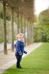 Ryan At Hall Place (James W Atkins) Tags: toddler boy ryan son baby walking standing hallplace bexley hall place field grass green trees natural candid sun happy sunshine cloudy summer spring warm bright kent tamronsp85mmf18divcusdf016n tamron85mm nikon nikon5100