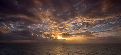 Barbados..... (Kevin Povenz Thanks for the 3,000,000 views) Tags: 2017 march kevinpovenz cruise royalcaribbean morning morningsky early earlymorning sky clouds canon7dmarkii water atlantic atlanticocean sun blue reflection island hazey haze