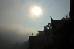 See the Light (Franklin Vincentie) Tags: kwai sun building thailand light sky