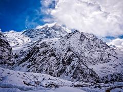Machapuchare (Fishtail) mountain, Nepal (CamelKW) Tags: abc annapurnabasecamptrek annapurnaregiontrek annapurnasanctuary fishtail kathmandu mbc machapuchare machapucharebasecamp nepal pokhara trekking