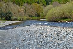 When 2 rivers meet (Lord Edam) Tags: river afon llugwy conwy wildlife morning water rocks fields
