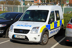 British Transport Police Ford Transit Connect Dog Section Van (PFB-999) Tags: british transport police btp ford transit connect dog section van vehicle unit wagon k9 lightbar grilles fendoffs leds lx62cxs grand national liverpool