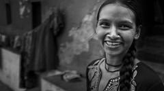 Yes, I have (Frank Busch) Tags: frankbusch frankbuschphotography imagebyfrankbusch bw blackwhite blackandwhite girl india kolkata monochrome portrait smiling