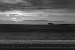 Pier Silhouette (tabulator_1) Tags: southport southportpier blackwhite blackandwhite