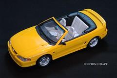 Mustang GT Convetible 2 (DOLPHIN☆CRAFT) Tags: ford mustang gt convertible tamiya フォード ムスタング マスタング コンバーチブル タミヤ プラモデル