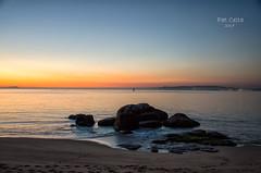 Atardecer en la playa de Tuia :) lo que me gusta el mar ;) buen día a tod@s (Pat Celta) Tags: nikon d7000 landscape paisaje galicia galiza
