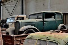 ford model B (riccardo nassisi) Tags: collezione righini rust rusty scrapyard collection camion truck ruggine epave alfa romeo 950 900 fiat old car auto