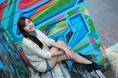 Yibi0034 (Mike (JPG直出~ 這就是我的忍道XD)) Tags: yibi 西門町 d300 model beauty 外拍 portrait 2013 fifi