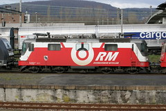 RM 436 112-7 Crossrail, Muttenz Rbf (michaelgoll777) Tags: rm re436 crossrail