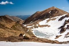 Balade avec vues (Aula/Ariège) (PierreG_09) Tags: ariège pyrénées pirineos couserans montagne hiver neige areau étang lac glace