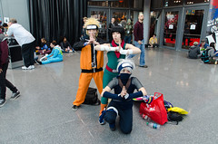 Naruto, Lee, and Kakashi Cosplay (Naruto) (vince.ng86) Tags: cosplay naruto comiccon nycc nycc2014