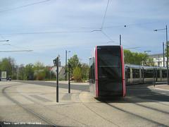 Av.Jean de Portalis/Allee Ferdinand de Lesseps (ernstkers) Tags: trolley tram lightrail streetcar tours tranvia elctrico tramvia citadis strasenbahn