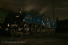 3P20 night shoot 17/10/14 (Matt.Evans44871) Tags: autumn bury streak fast railway steam lancashire east sir a4 nigel elr gala lner no7 gresley 60007