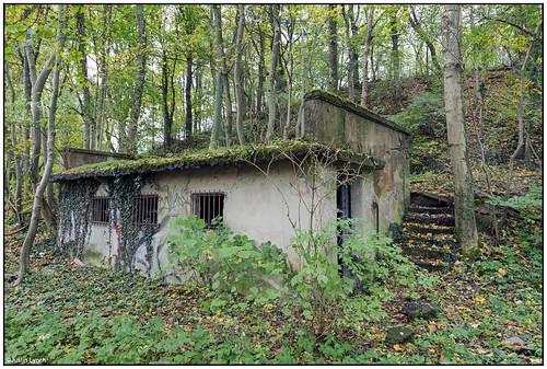 old concrete bunker in Dagsthul