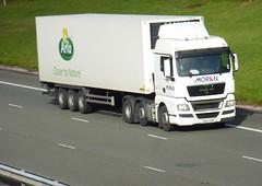 DE62 OZB (Cammies Transport Photography) Tags: man truck foods lorry moran flyover logistics m74 arla lockerbie tgx de62ozb