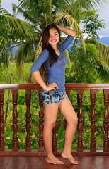 Daisy Marie (2014 #1) (Setiritter) Tags: portrait sexy girl beautiful beauty pose model pretty natural philippines palm jeans phl mdchen philippinen schn natrlich negrosoccidental negrosoriental hbsch mabinay