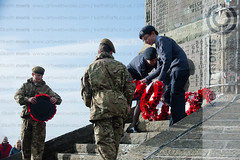 RemembranceSundayAber09112014_km017.jpg (ffoto keith morris) Tags: uk people wales town war ceremony aberystwyth service welsh warmemorial remembering remembrancesunday