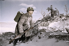 Soviet soldier B. Sliven delivers food to the front - 1941 (Za Rodinu) Tags: world 2 man men history vintage soldier war gun russia military rifle rifles front german weapon ww2 soldiers historical guns 1942 1945 rare troops 1944 1943