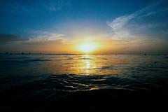 Sunrise floating (Lost Odyssey) Tags: ocean shells beach water sunrise rocks surf waves florida barrel paddle wave surfing atlantic surfboard tropical surfers reef skimboard