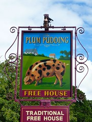 Milton, Oxfordshire (cherington) Tags: england unitedkingdom milton oxfordshire pubsigns freehouse socialhistory plumpudding innsigns pictorialsigns englishpubsigns traditionalsigns