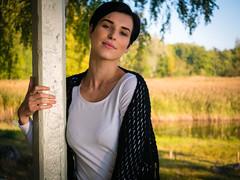 Marta (VII) (PixPep) Tags: dof bokeh beautifullight beautifulwoman beautifulnature beautifulmodel beautifulcolours beautifulbokeh swedishmodel lumixgx7 pixpep