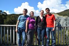 Avec Maja et Nick au sommet